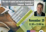 19 de Noviembre WORKSHOP GRATUITO - Dr. Kenneth Richter
